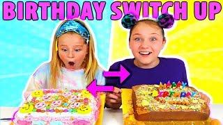 MYSTERY BOX BIRTHDAY CAKE SWITCH UP CHALLENGE!! WINNER GETS $1000