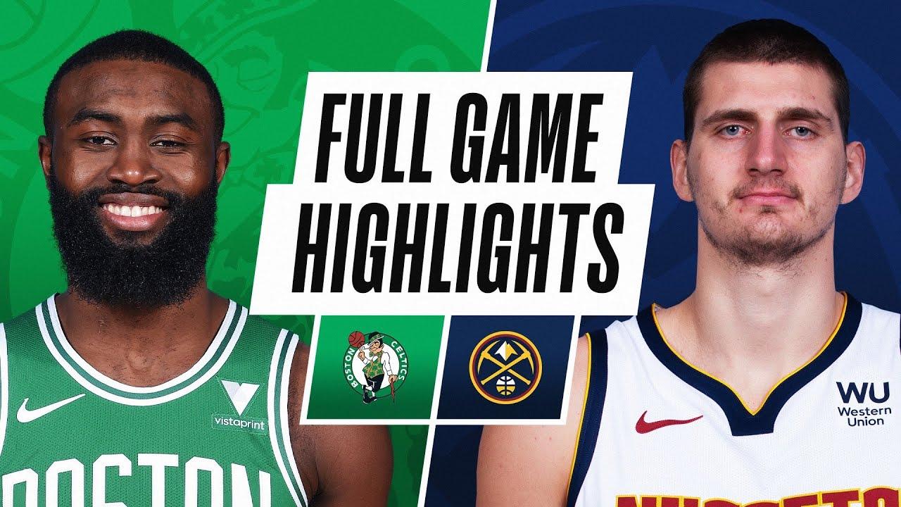 Celtics vs. Nuggets - Game Recap - April 11, 2021 - ESPN