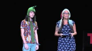 Unschooling: making the world our classroom | Lainie Liberti & Miro Siegel | TEDxAmsterdamED