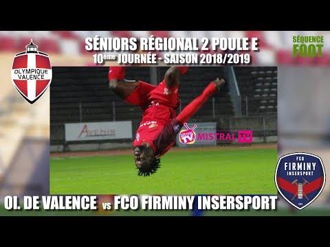 Séquence foot    10ème journée   OV   Firminy   08 12 2018