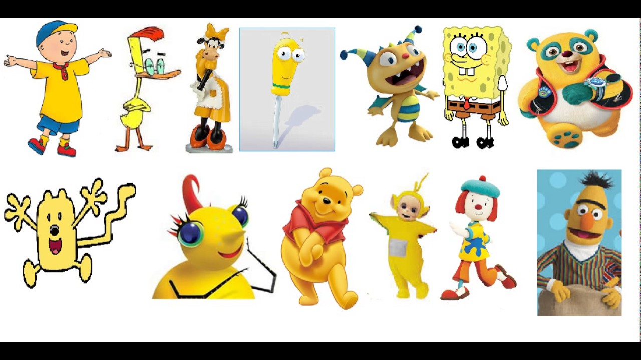 Which One Of These Yellow Characters Are Better