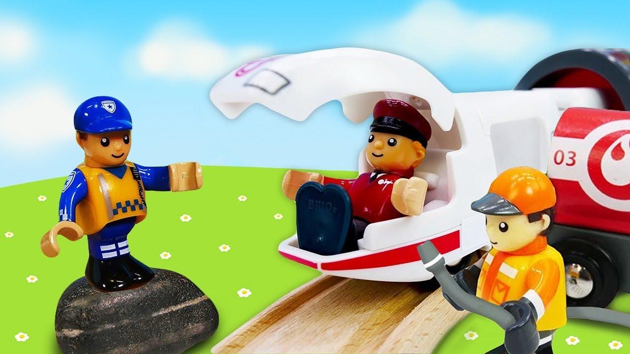 🔴 Live Stream. BRIO Stadt. Tolles Spielzeug aus Holz.