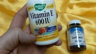 Best Vitamin E? Product Comparison,  Solaray, Nature's Way
