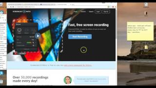 Screencast-o-matic and why you should use it