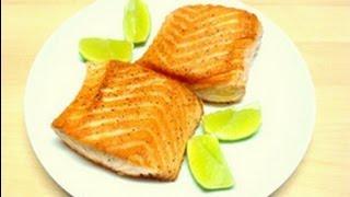 Pan-seared Salmon-- Crispy On The Outside, Moist On The Inside