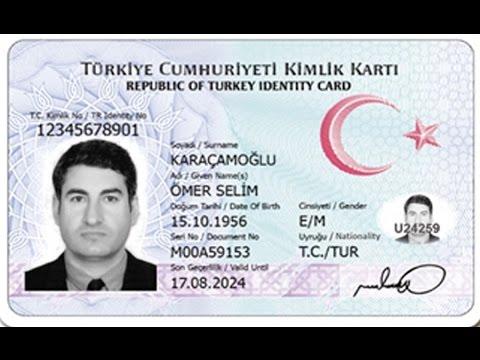 Türkiye Cumhuriyeti Yeni Kimlik Kartı Hakkında Bilgiler