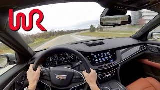 2017 Cadillac CT6 2.0L Turbo - WR TV POV Test Drive
