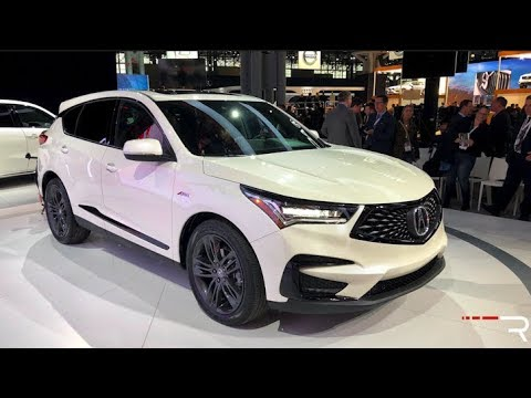 2019 Acura Rdx A Spec Redline First Look 2018 Nyias Youtube