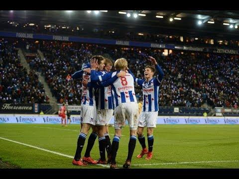 Eredivisie speelronde 17: sc Heerenveen - NAC Breda (2017/2018)