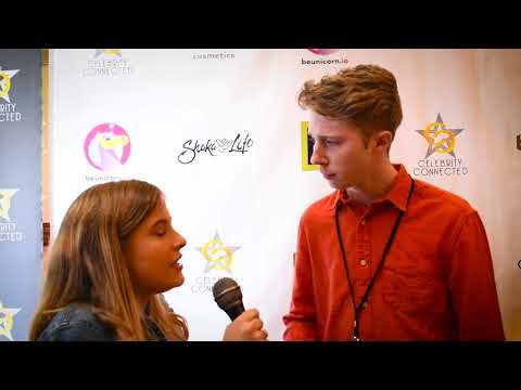 National Geographic's Joey Luthman  at Celebrity Connected Gifting Suite