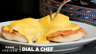 Making Eggs Benedict With Master Chef Billy Oliva | Dial A Chef