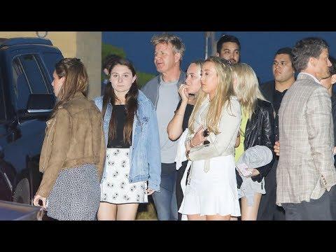 Gordon Ramsay And Family Hit Up Nobu For Dinner - YouTube