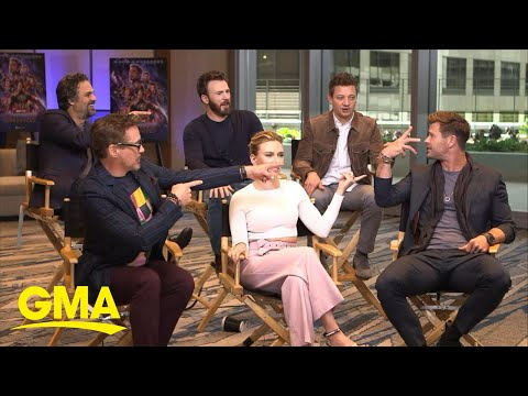 Avengers: Endgame cast talks about the films highly-anticipated debut l GMA