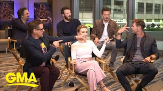 'Avengers: Endgame' cast talks about the film's highly-anticipated debut l GMA