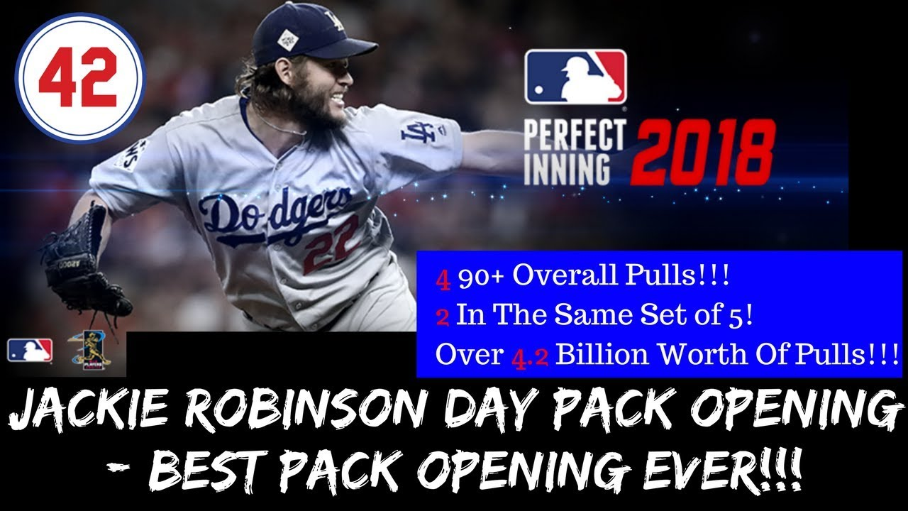 Mlb Pi 2018 Jackie Robinson Day Pack Opening Best Opening Ever Sexiest Card In The Game