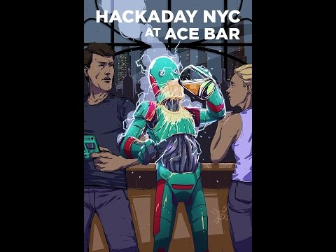 Hackaday MakeIt NYC Kick-off Party in 360! @hackaday @adafruit #adafruit