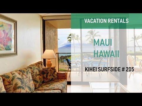 Kihei Surfside Condo 205 - South Kihei Vacation Rentals