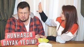 KARIMDAN HUNHARCA DAYAK YEDİM! EVET/HAYIR CHALLENGE