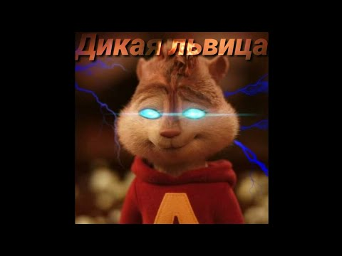 Элвин и Бурундуки клип~Дикая львица
