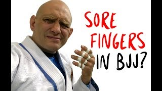 3 Fixes for Sore Fingers In BJJ