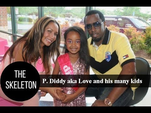fa193df6cc8 Sean Combs aka P. Diddy aka Love and his many children - YouTube