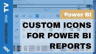 Cómo Conseguir Iconos Personalizados En Su Poder los Informes de BI