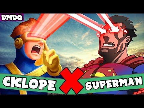 CICLOPE X SUPERMAN: QUAL RAJADA ÓPTICA É MELHOR? | DMDQ #00