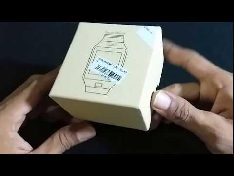 unboxing Smartwatch Murah Lazada