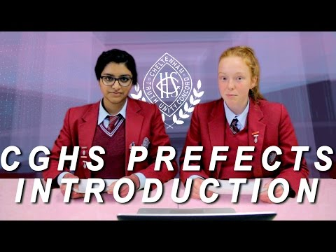 CGHS Prefects Introduction Video 2016-17
