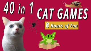 40 in 1 Cat Games  8 HOURS!!!
