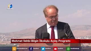 Canlı Yayın Mehmet Vehbi İlkokulu Açılış Programı 16 09 2019