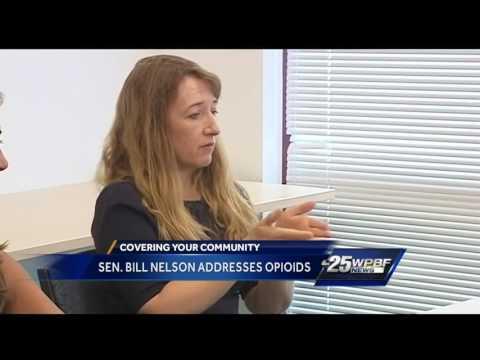 Sen. Bill Nelson addresses opioid crisis