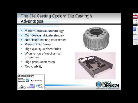 Part 1 - Die Casting Process: What is the die casting process?