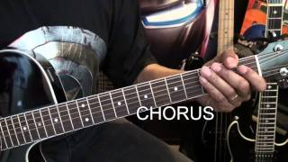 Toto GEORGY PORGY GUITAR LESSON Tutorial EricBlackmonMusicHD