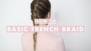 vuclip How To French Braid: Hair Tutorial For Beginners | Luxy Hair