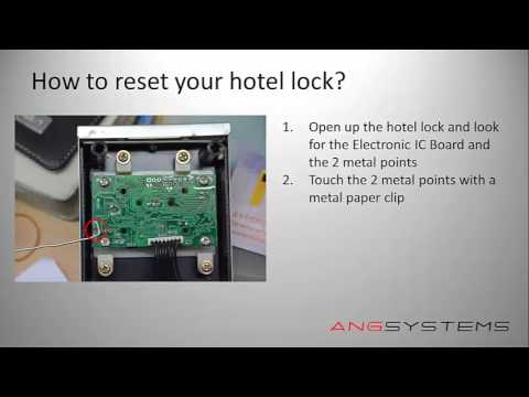 how to reset a hotel electronic lock to factory setting youtube rh youtube com Falcon Mortise Lock Replacement Parts Vingcard 2100 Locks