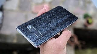 dbrand Samsung Galaxy S10+ Black Dragon Skin! Best Skin Available! YOU NEED IT!