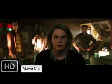 X-Men Days of Future Past: X-Men Meet Quicksilver/Meeting Quicksilver [HD]