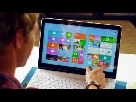 Sony VAIO FitE Touch Overview