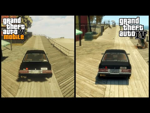 GTA IV Android vs GTA IV PC   Side By Side Comparison