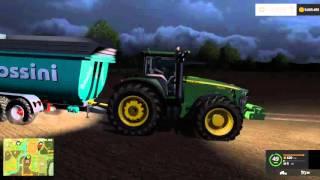 farming simulator 15 58 puntata serie belgique trinciamo la paglia