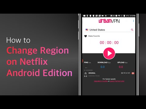 How To Change Region On Netflix Android Version 100% FREE