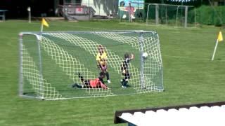 22.06.2013 Fußball Sachsen Pokal-Finale E-Junioren SG Weißig 1861 - Heidenauer SV