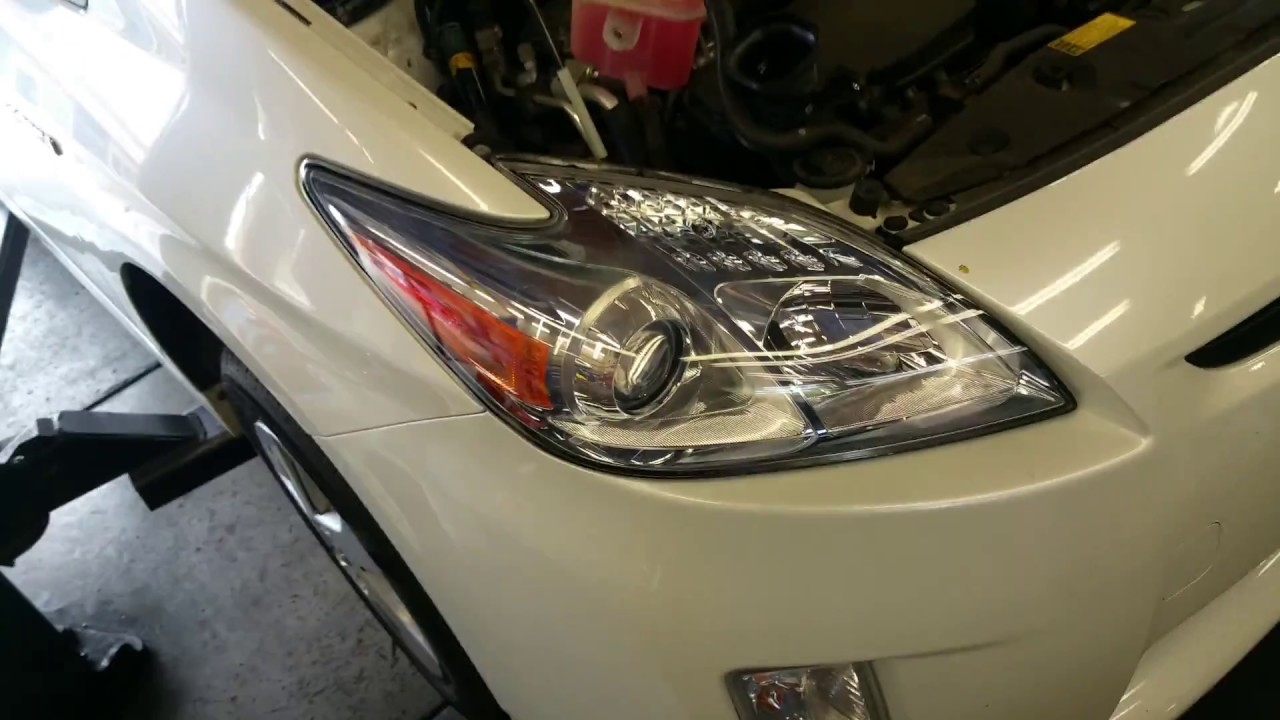 How To 2010 15 Prius Parking Lights Easy Way