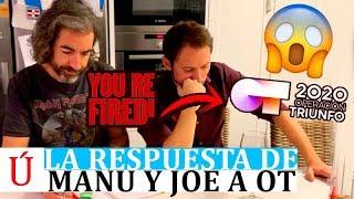 La reacción viral de Joe y Manuel Martos tras su despido de Operación Triunfo