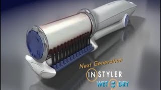 Instyler Wet 2 Dry As Seen On TV Commercial Instyler Wet 2 Dry As Seen On TV Instyler Wet 2 Dry