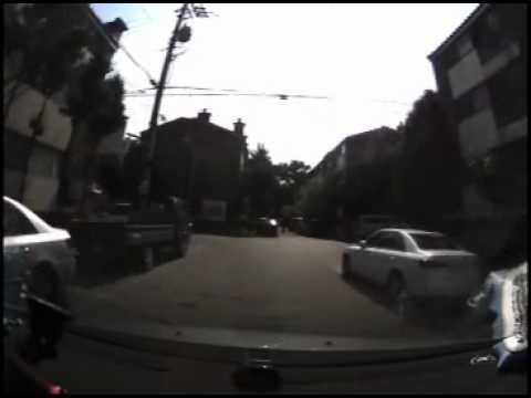 VisionDrive - Bike head colision accident