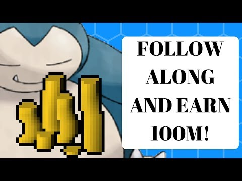 Earn 100m! Zero GP to 100m Follow Along Series #1 | Runescape