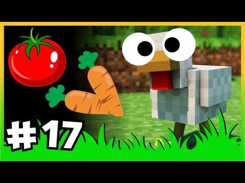 Yeni OTOMATİK Tarlalar 🍓🍈🍅 Ve Kömür Tavuğu - ÇiftçiCraft S2  - #17