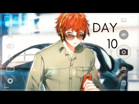 Mystic Messenger - 707/ Luciel Choi (Day 10 Walkthrough)